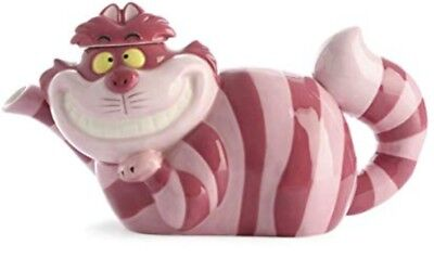 Disney Cheshire Cat Tea Pot, Stunning Pink Colour Alice And Wonderland NEW