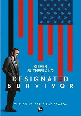 Designated Survivor: The Complete First Season (DVD,2017)