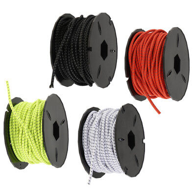 Heavy Duty Elastic Rope Bungee Cord for Kayak Boat Canoe Cargo Nets Camping