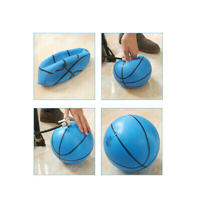 3 Piece 6 Inch Kids Children Mini Inflatable Basketball Bouncy Kids Play Toy
