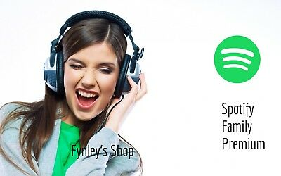 Spotify Premium Code 12 Month 1 Year Use Your Own Account 1 - 6 Hours Delivery
