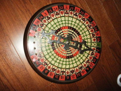 Vintage 1920s All-In-One Company Roulette Games And Other Games In Box