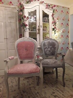 Reupholstered French Louis Style chair