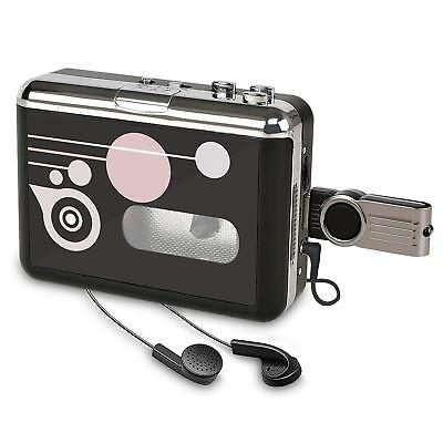 DIGINTNOW!Portable Cassette Player Recorders , Standalone Audio Music Recorder