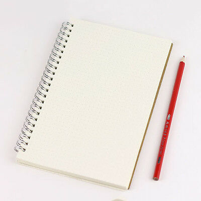 A5 Bullet Journal Notebook Medium Hardcover 90 Pages Dot Grid Journal White
