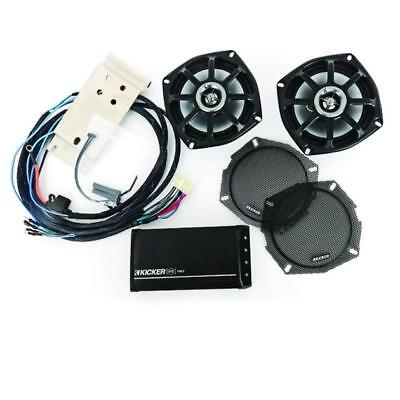 Kicker Speaker and Amp Kit Front #FHDR98 Harley Davidson Road Glide