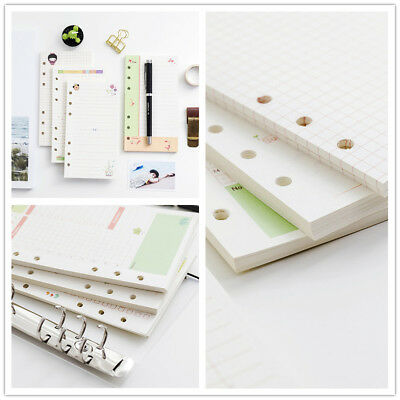 A5/A6 Daily Colourful Planner 45 Sheets Diary Insert Refill Schedule Organiser