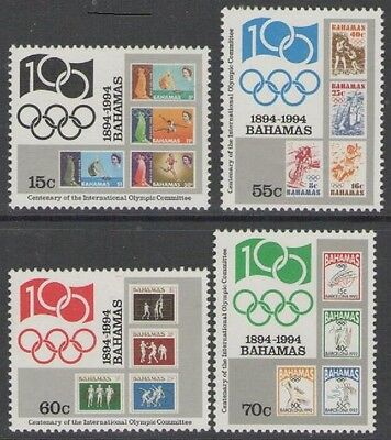 Bahamas Sg1008/11 1994 International Olympic Committee Mnh