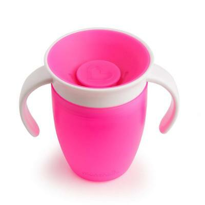 Munchkin Tasse Miracle 360° d'apprentissage - Rose - 207 ml - Neuf - Enfant