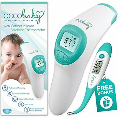 Waterproof Flexible Tip Non-Contact Digital Infrared Clinical Baby Thermometer