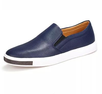 Big Size Men Leather Loafers Slip On Casual Shoes Mens Brand Shoes Leisure