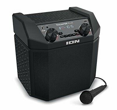 ION Audio Tailgater Plus | Wireless Rechargeable 50-Watt Portable Speaker System
