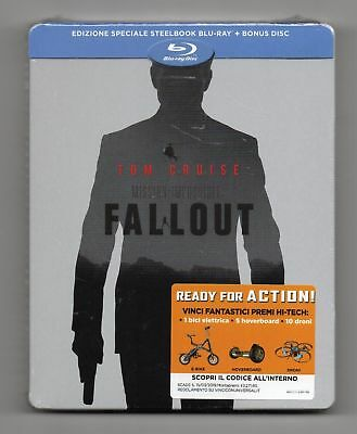 Mission: Impossible - Fallout - Blu-ray Steelbook - NEW/SEALED - Regions: ABC