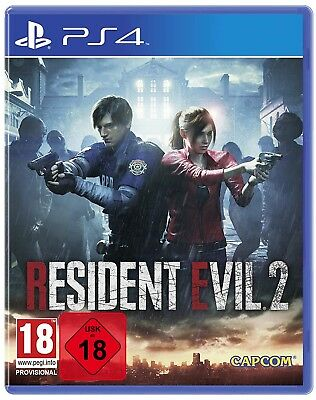 Resident Evil 2 + 3D Cover - PS4 Playstation 4 - NEU OVP - UNCUT - lieferbar