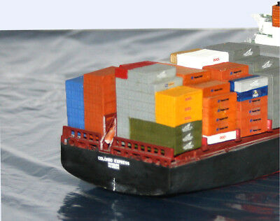"""Containerstapel für Containerschiff """"Colombo Express"""", Set 2, M 1:700"""