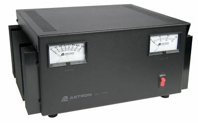 Astron RS-70M 70 Amp Regulated DC Power Supply With Meters