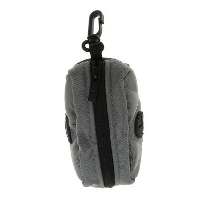 Pet Garbage Clean Waste Poo Bag Carrier Dog Waste Poop Holder Grey