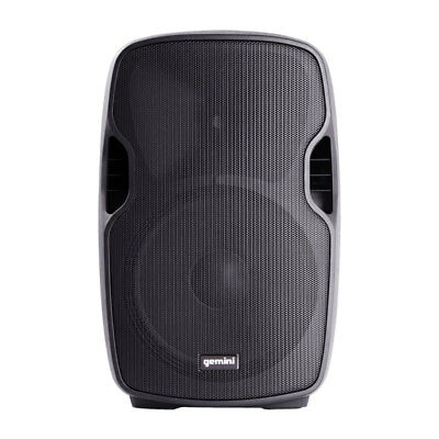 Gemini AS-08BLU Portable 8 Inch Active Powered Bluetooth PA Loudspeaker Speaker