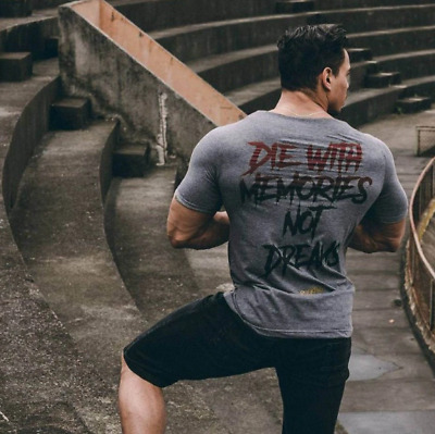 0f1cbdee3e9 Men Summer Gym T-Shirt Male Casual Fitness T-Shirt Fashion Crossfit Short  Sleeve