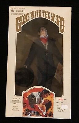 Rhett Butler Black Suit World Doll Limited Ed Gone with the Wind 1989 New In Box
