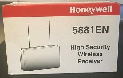 two Brand New Honeywell 5881ENH Unlimited Zone Wireless Alarm High Receiver