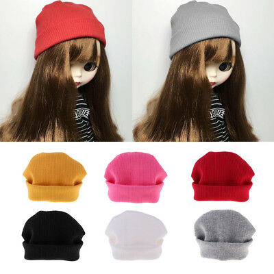 1/6 Trendy Woolen Hat Cap Clothes Accessories for Blythe Doll Dress Up Decor