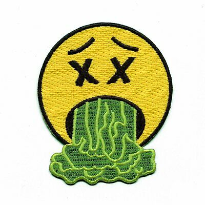 8cbe51821df3 ASTROWORLD HAPPY FACE World Emoji Embroidered Iron On Patch - $10.95 ...