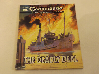 Commando War Comic Number 2145 !!,1987 Issue,good For Age,32 Years Old,very Rare
