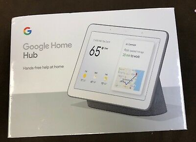 Google Home Hub (GA00515-US) - with Google Assistant - Charcoal....BRAND NEW!!!