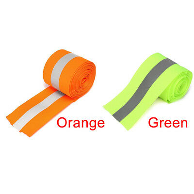 Warning Strip Sewing Reflective Tape Clothes Safety Luggage Ribbon Florescent
