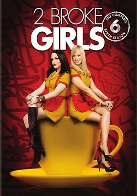 2 Broke Girls: The Complete Sixth Season (DVD,2017)