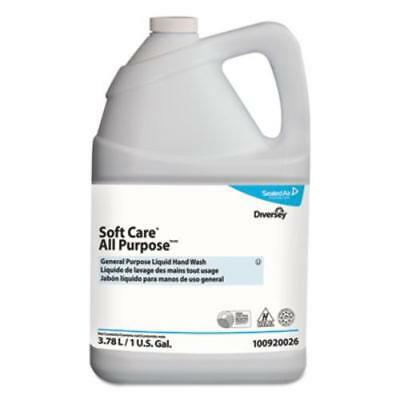 Johnson Diversey 100920026 Soft Care All Purpose Liquid, Gentle Floral, 1 Gal
