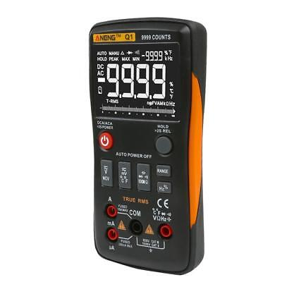 ANENG Q1 True-RMS Digital Multimeter Button 9999 Counts with Analog Bar Graph SP