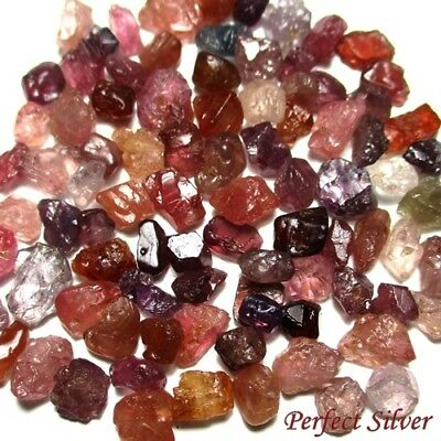 107 ct. Unheated Natural Mined Spinel Rough LOT ! Beautiful @ Free ship