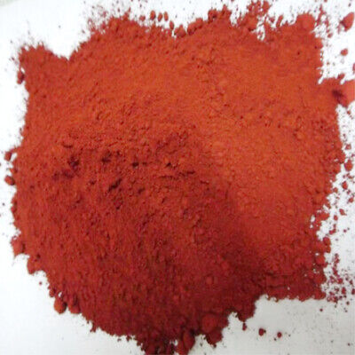 500g Ferric Oxide Powder Red Iron Oxide Fe2O3 for Makeup Pigments Polishing