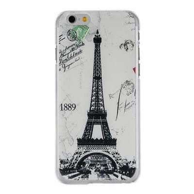 Ultra Thin Hard Shock-proof Eiffel Tower Mobile Phone Cases For Iphone WST