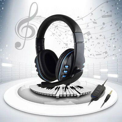 3.5mm Mic Stereo Surround Gaming Headphones Headset For PS4 Xbox PC Xboxone UK