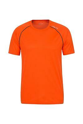 Mountain Warehouse Mens Tshirt Isocool Fabric with Antibacterial Treatment