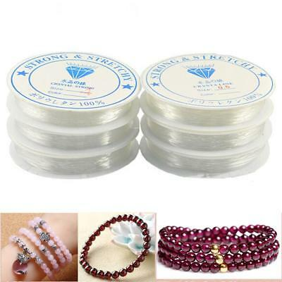 Strong Elastic Stretchy Beading Thread Cord Bracelet String DIY Making AO