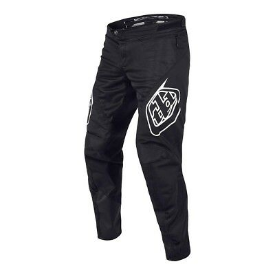 Troy Lee Designs Sprint Pants Solid Black 2019 Adult All Sizes Bmx Gear Mtb Dh
