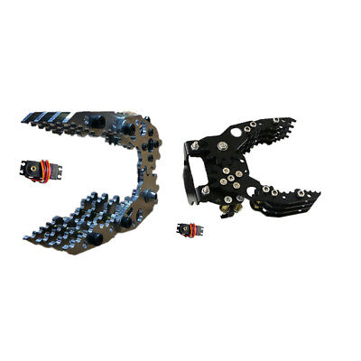 Fully Assembled Mechanical Robotic Arm Clamp Claw For Arduino Raspberry