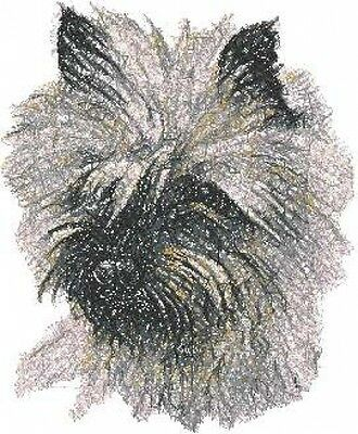 Large Embroidered Zippered Tote - Cairn Terrier AED14565