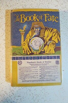 Book of Fate Napoleon's Guide to Destiny, 1927 HC, Ancient Egypt, Occult, Fortun