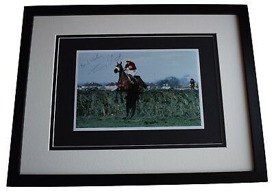 Tommy Stack Signed Framed Autograph 16x12 photo display Red Rum Grand National