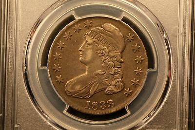 1833 Capped Bust 50c Silver XF45 PCGS O-105 r.2 #36817271