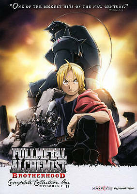 Fullmetal Alchemist: Brotherhood Collection One Episodes 1-33 New Free Shipping