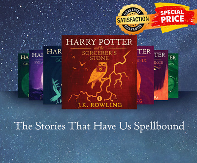 Harry Potter Audiobook Collection Read by Stephen Fry - MP3 + BONUS