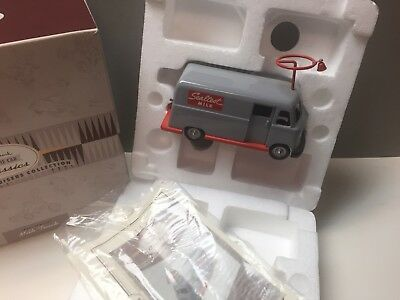 Hallmark Kiddie Car Classics 1960s Sealtest Milk Truck DieCast Metal Collectible