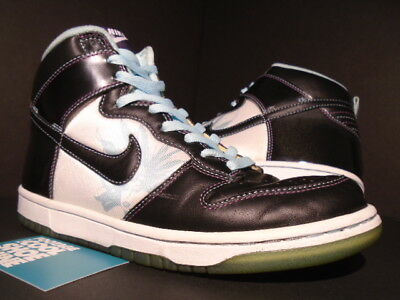 differently 11695 eb7ee 2006 Nike Dunk High Premium Santana Black Glacier Ice Blue White 312786-003  8