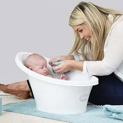 Shnuggle Baby Infant Bath Tub With Bum Bump Support And Cosy Foam Back Rest Seat